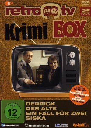 Retro TV Krimi Show - Derrick / Der Alte / Ein Fall für Zwei / Siska (2 DVDs)