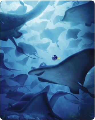 Le Monde de Dory (2016) (Steelbook, Blu-ray 3D + 2 Blu-rays)