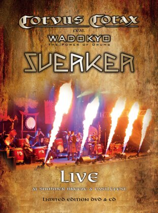 Corvus Corax Feat. Wadokyo - Sverker - Live (Limited Edition, DVD + CD)