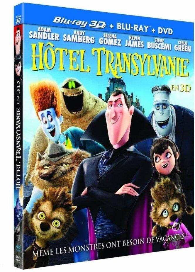Hôtel Transylvanie (2012) (Blu-ray 3D (+2D) + 2 Blu-ray + DVD)