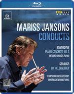 Bayerisches Rundfunkorchester, Mariss Jansons & Mitsuko Uchida - Beethoven / Strauss (Arthaus Musik, BR Klassik)