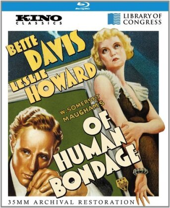 Of Human Bondage (1934) (s/w, Remastered)