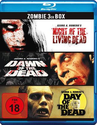 Night of the living Dead / Dawn of the Dead / Day of the Dead - Zombie 3er Box