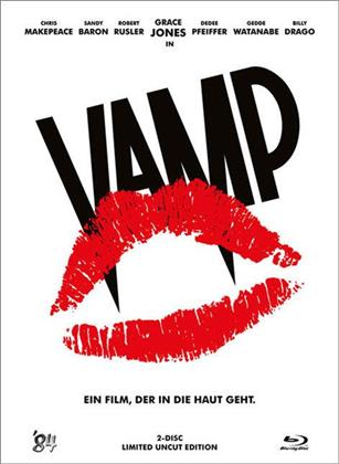 Vamp (1986) (1986) (White Edition, Limited Edition, Uncut, Blu-ray + DVD)