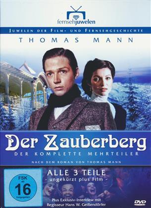Der Zauberberg (Thomas Mann) - Der komplette 3-Teiler (Fernsehjuwelen 2 DVDs)