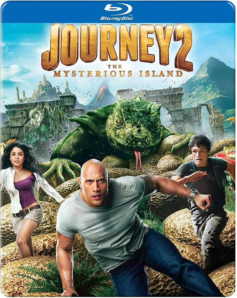 Journey 2: The Mysterious Island (2011) (Steelbook)