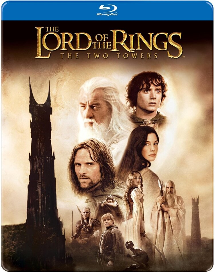 The Lord of the Rings - The Two Towers (2002) (Steelbook)
