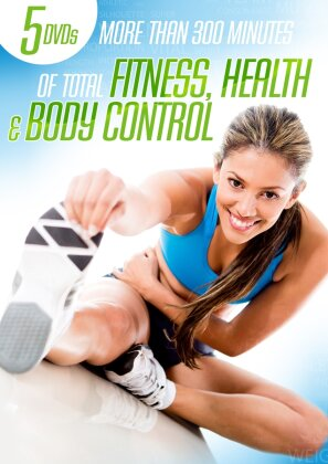 More than 300 minutes of total fitness, health and body control (5 DVDs)