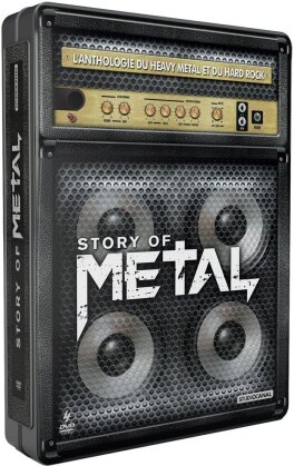 Various Artists - Story of Metal (Steelbook, 4 DVDs)