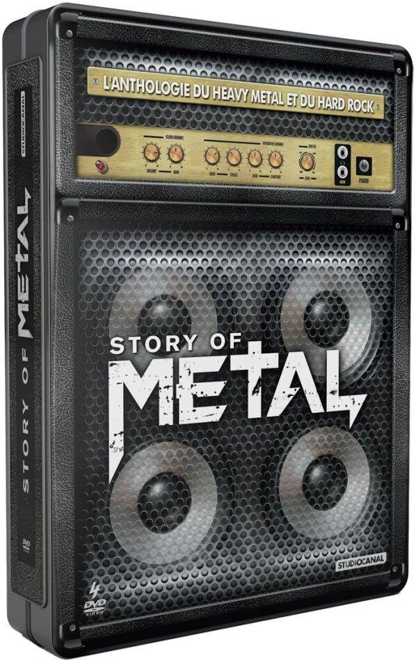 Various Artists - Story of Metal (Steelbook, 4 DVDs)
