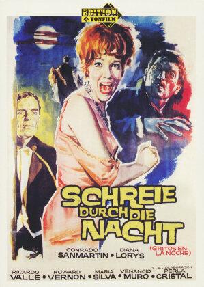 Schreie durch die Nacht (1962) (s/w, Limited Edition, Uncut)