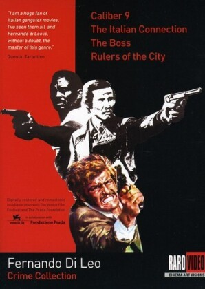 Fernando Di Leo Crime Collection - Caliber 9 / The Italian Connection / The Boss / Rulers of the City