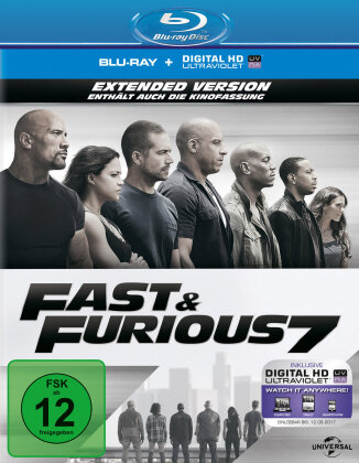 Fast & Furious 7 (2015) (Extended Edition, Kinoversion)