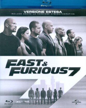 Fast & Furious 7 (2015) (Extended Edition, Versione Cinema)