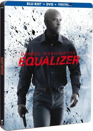 The Equalizer (2014) (Steelbook, Blu-ray + DVD)