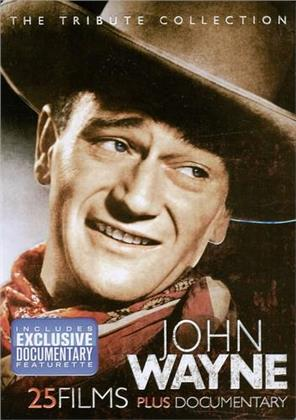 John Wayne: The Tribute Collection - 25 Films plus Documentary (Collector's Edition, 4 DVDs)