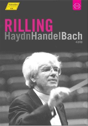 Bach Collegium Stuttgart, Gächinger Kantorei Stuttgart, … - Haydn / Händel / Bach (Euro Arts, 4 DVDs)