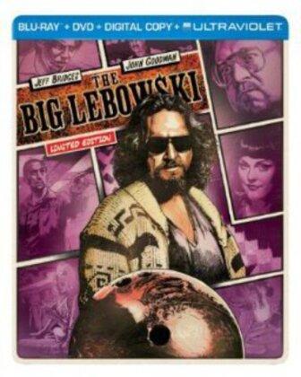 The Big Lebowski (1998) (Limited Edition, Steelbook, Blu-ray + DVD)