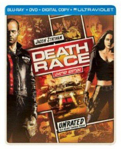 Death Race (2008) (Limited Edition, Steelbook, Blu-ray + DVD)