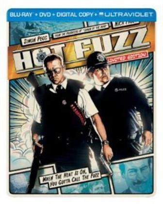 Hot Fuzz (2007) (Limited Edition, Steelbook, Blu-ray + DVD)