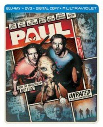 Paul (2010) (Limited Edition, Steelbook, Blu-ray + DVD)