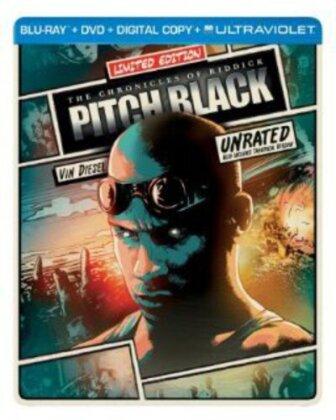 Pitch Black (2000) (Limited Edition, Steelbook, Blu-ray + DVD)