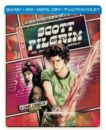 Scott Pilgrim vs. the World (2010) (Limited Edition, Steelbook, Blu-ray + DVD)