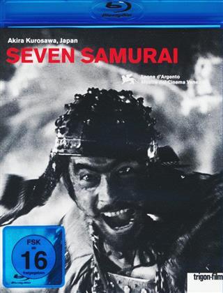 Seven Samurai - Die Sieben Samurai - (Restaurierte integrale Fassung) (1954) (Trigon-Film)