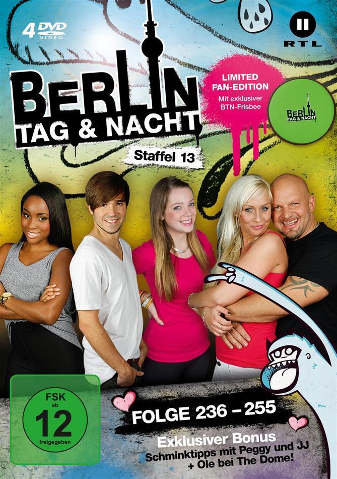Berlin - Tag & Nacht - Staffel 13 (Fan Edition, Limited Edition, 4 DVDs)