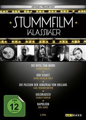 Stummfilmklassiker Edition (Arthaus, n/b, 6 DVD)