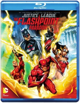 Justice League - The Flashpoint Paradox (2013) (Blu-ray + DVD)
