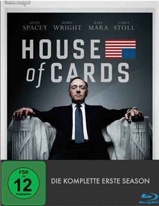 House of Cards - Staffel 1 (4 Blu-rays)