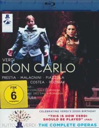 Orchestra Dell'Emilia-Romagna, Fabrizio Ventura, … - Verdi - Don Carlo (Tutto Verdi, Unitel Classica, C Major)