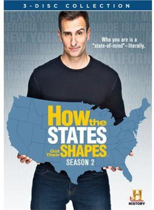 How the States got their Shapes - Season 2 (3 DVDs)