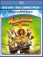 Madagascar 2 - Escape 2 Africa (2008) (Limited Edition, Blu-ray + DVD)