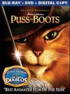 Puss in Boots (2011) (Limited Edition, Blu-ray + DVD)