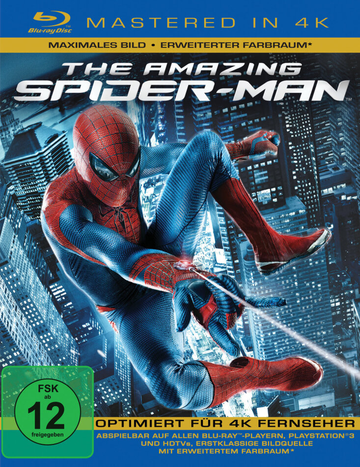 The Amazing Spider-Man (2012) (Mastered in 4K)