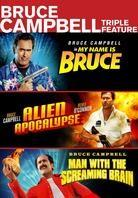 Bruce Campbell Triple Feature - My Name is Bruce / Alien Apocalypse / Man with the Screaming Brain