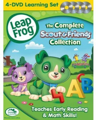 Leap Frog - The Complete Scout & Friends Collection (4 DVDs)