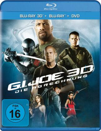 G.I. Joe - Die Abrechnung (2012) (Blu-ray 3D (+2D) + 2 Blu-rays + DVD)