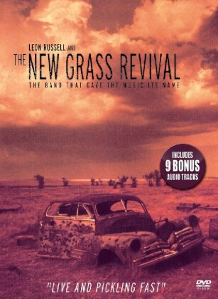 Russell Leon & The New Grass Revival - The band that gave the music it's name - Live