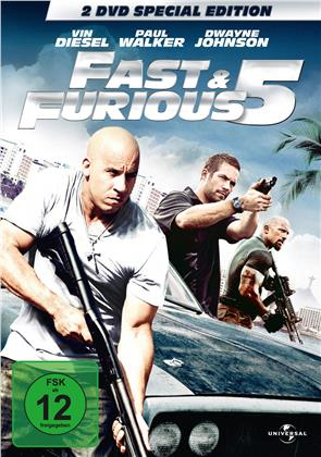 Fast & Furious 5 (2011) (Special Edition, 2 DVDs)