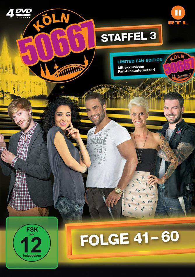 Köln 50667 - Staffel 3 (Fan Edition, Limited Edition, 4 DVDs)