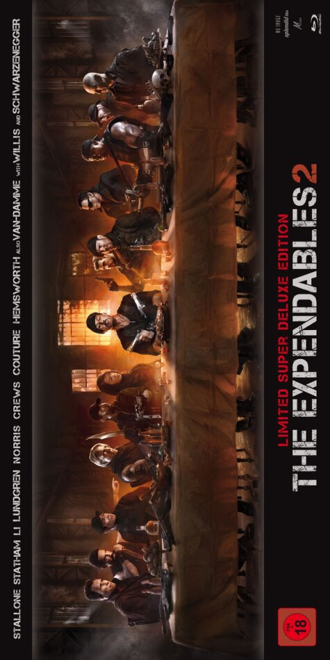 The Expendables 2 - Back for War (2012) (Limited Deluxe Edition)