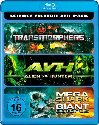 Transmorphers / AVH / Mega Shark versus Giant Octopus - Science Fiction 3er Pack