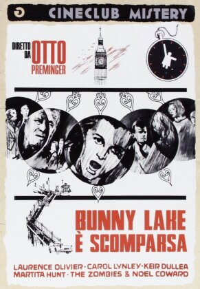 Bunny Lake è scomparsa (1965) (Cineclub Mistery, n/b)