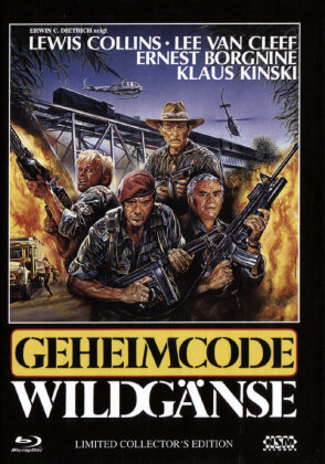 Geheimcode Wildgänse (1984) (Limited Collector's Edition, Blu-ray + DVD)