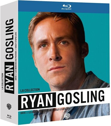 La Collection Ryan Gosling - Drive / Les marches du pouvoir / Crazy Stupid Love (3 Blu-rays)