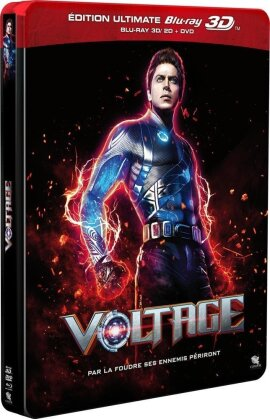 Voltage (2011) (Steelbook, Blu-ray 3D (+2D) + Blu-ray + DVD)