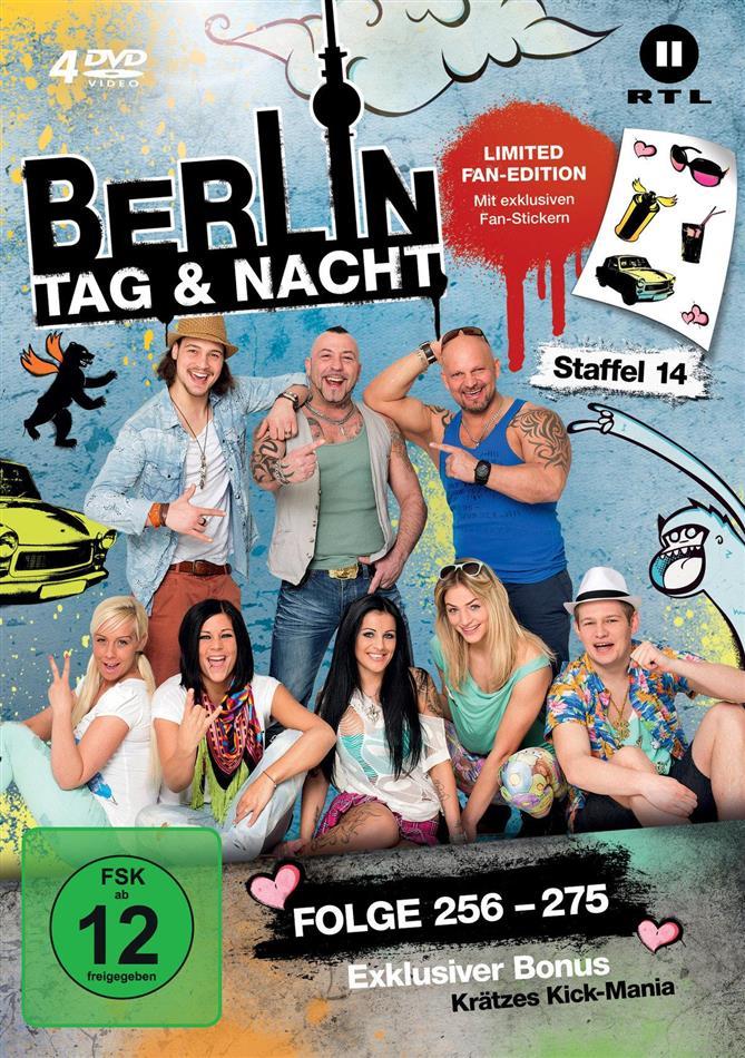 Berlin - Tag & Nacht - Staffel 14 (Fan Edition, Limited Edition, 4 DVDs)